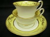 SOLD MINTON tea & coffee trio Pattern 774